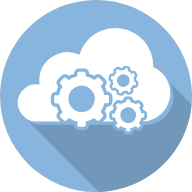 Logo for advantages of cloud-based software